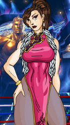 Capcom Cup Chun Li by Mawnbak
