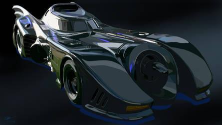 89 Batmobile by Mawnbak