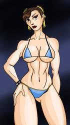 Chun Li Bikini by Mawnbak