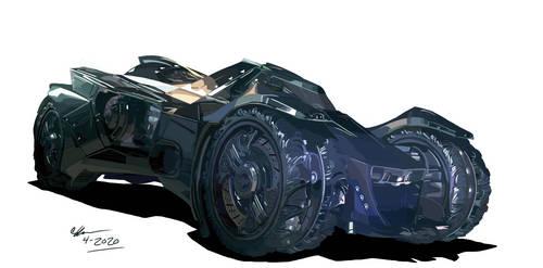 Arkham City Batmobile