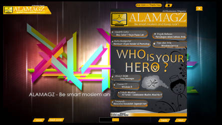 ALAMAGZ 2 - Preview by sandesign01