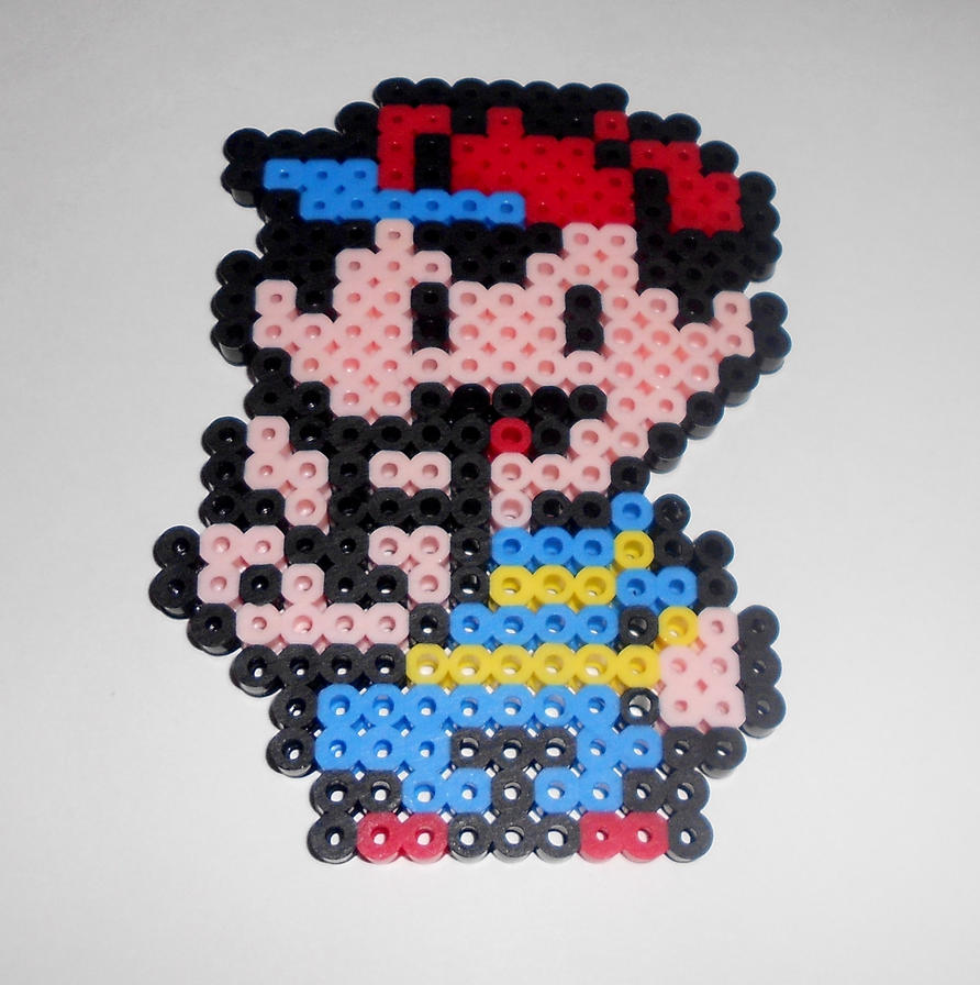 Ness Sprite Perler by Perler-Pop