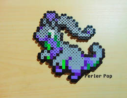 Goodra Perler by Perler-Pop