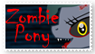 Trinity The Zombie Pony Stamp by Superstar4071