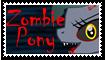 Trinity The Zombie Pony Stamp by Superstar4071