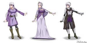 The Vindicators: Selene Althea(Main Outfits)