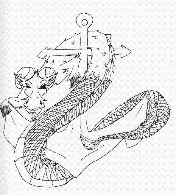 navy goat anchor by chibi master on deviantart. Black Bedroom Furniture Sets. Home Design Ideas
