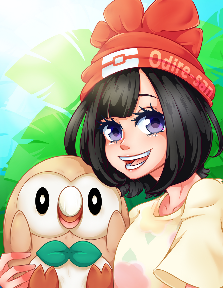 Pokemon Trainer [Speedpaint] by Odire-san