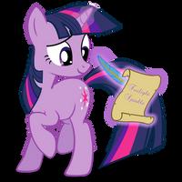 Twilight_Sparkle_Scroll by ForsakenSharikan