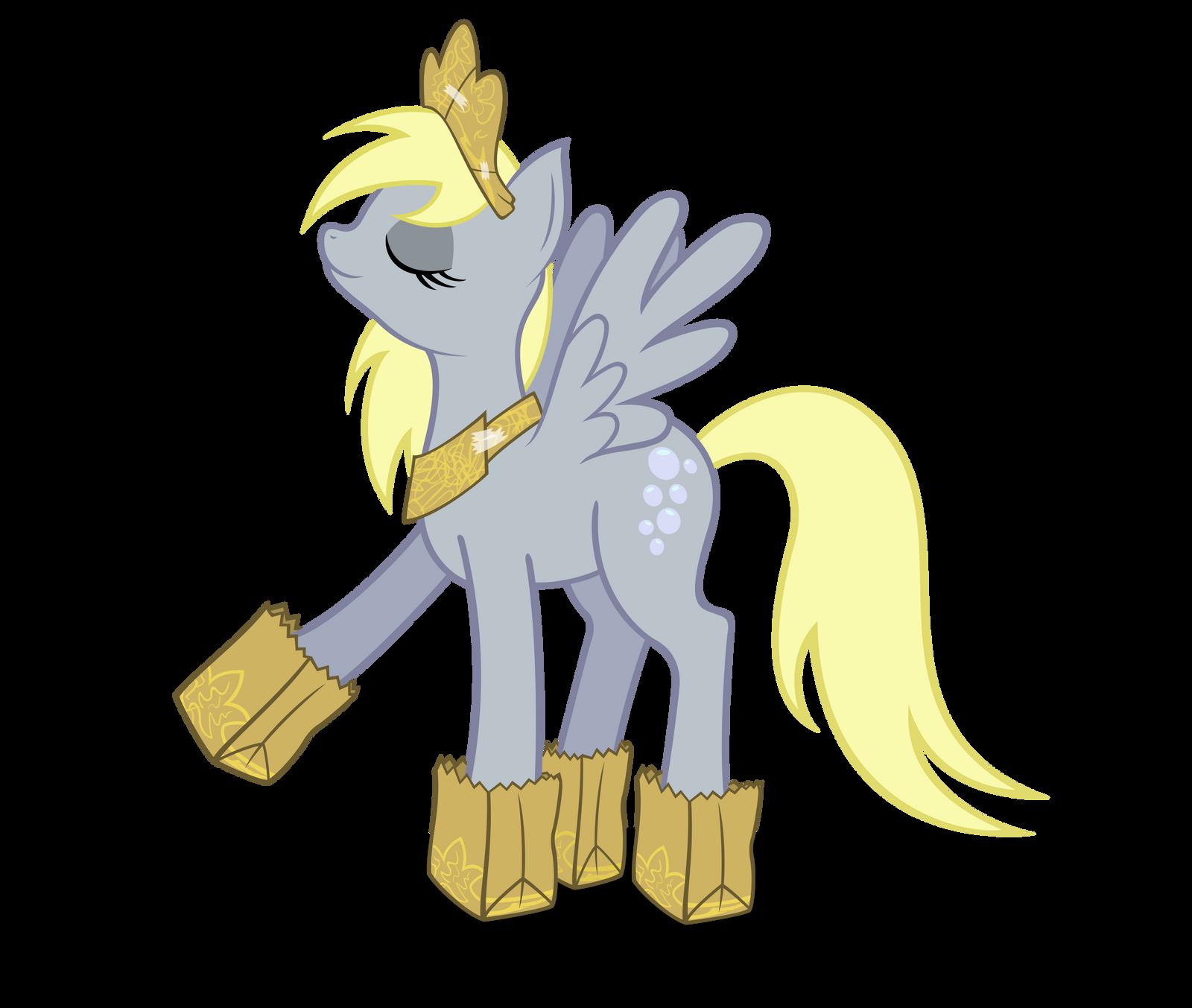Princess Derpy by ForsakenSharikan