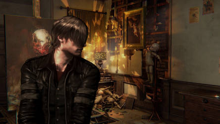Leon Kennedy - Layers of Fear by Utopya6