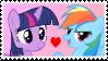 Twilight x Dash Stamp by Achuni