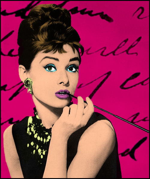 Audrey hepburn quote iphone wallpaper - Audrey Hepburn Warhol By Mambalicious On Deviantart