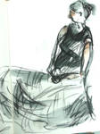 Susan in my sketchbook III