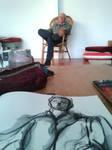 Gert S. in my sketchbook 2