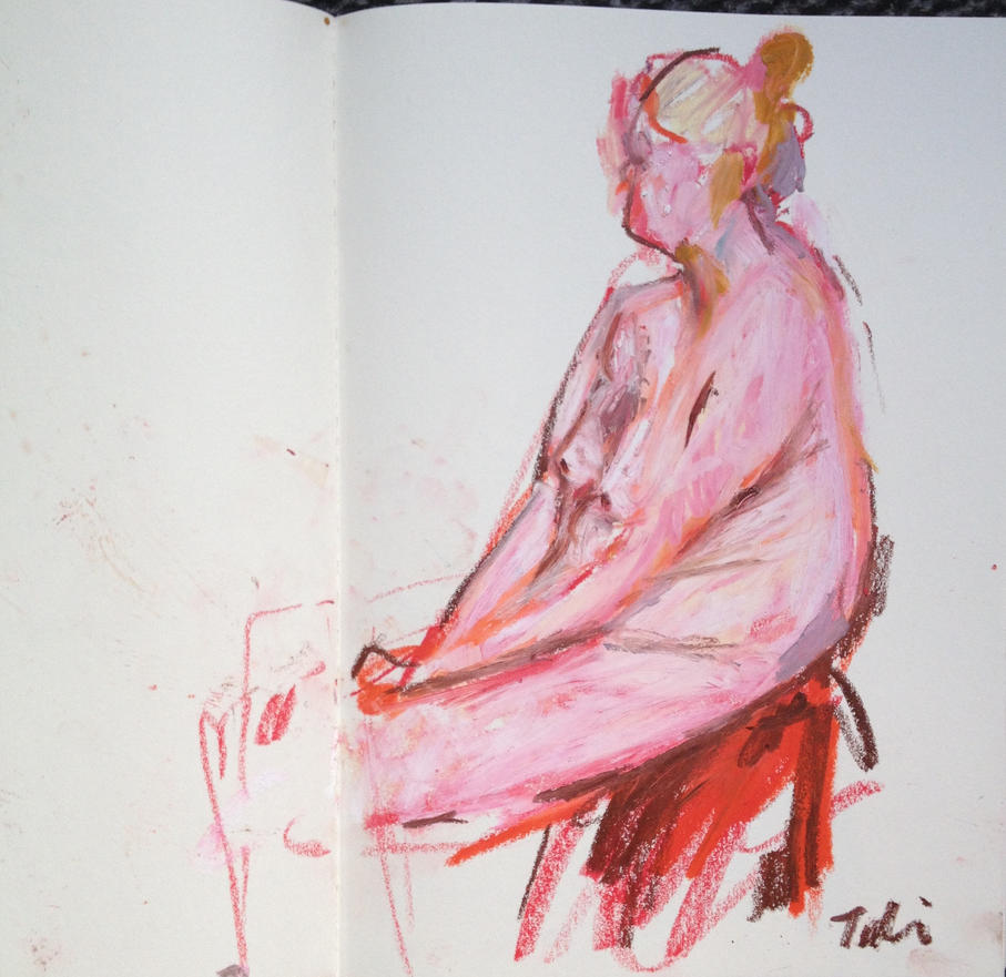 Sigrid in my sketchbook 1 by Anipo
