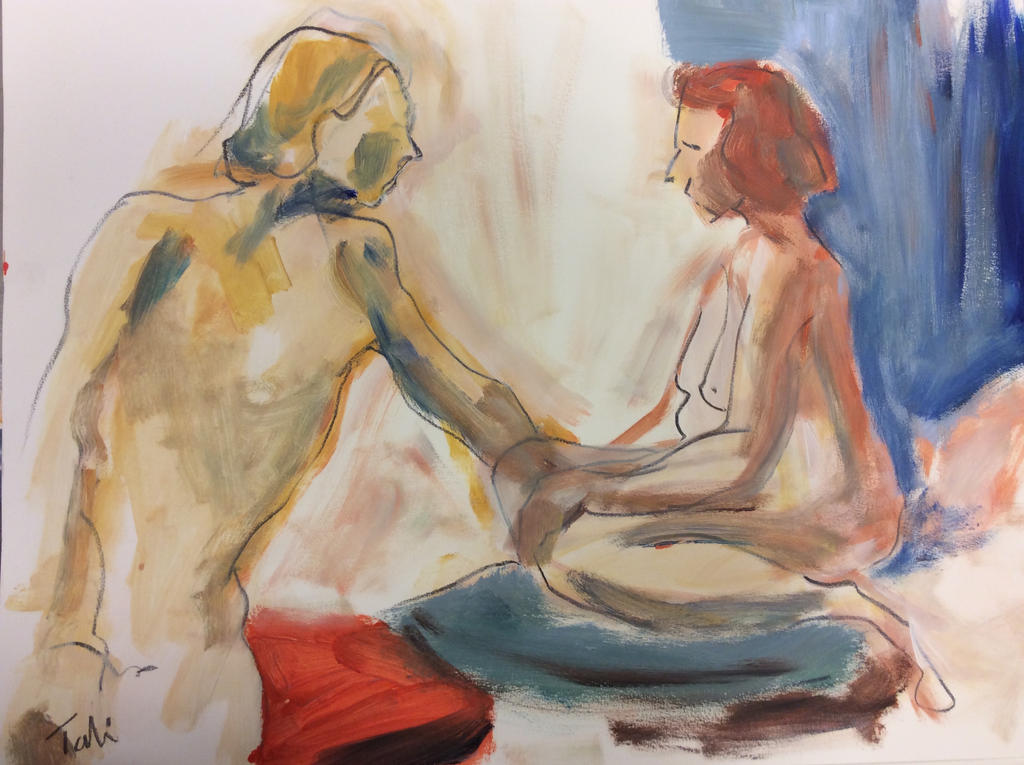 ArtisTTable's Figure drawing marathon -Zwolle 2 by Anipo