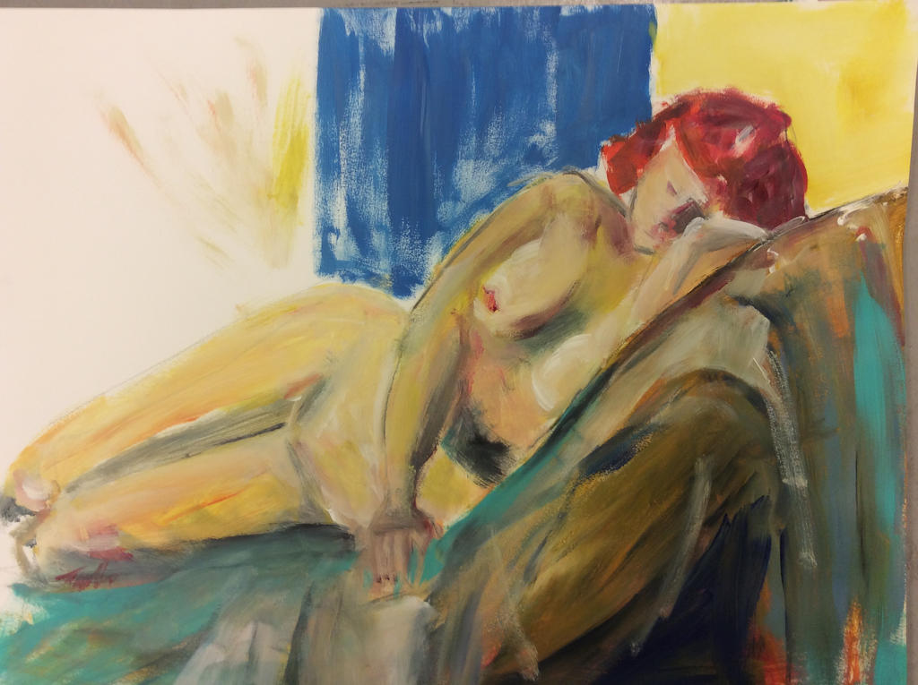 ArtisTTable's Figure drawing marathon -Zwolle 3 by Anipo