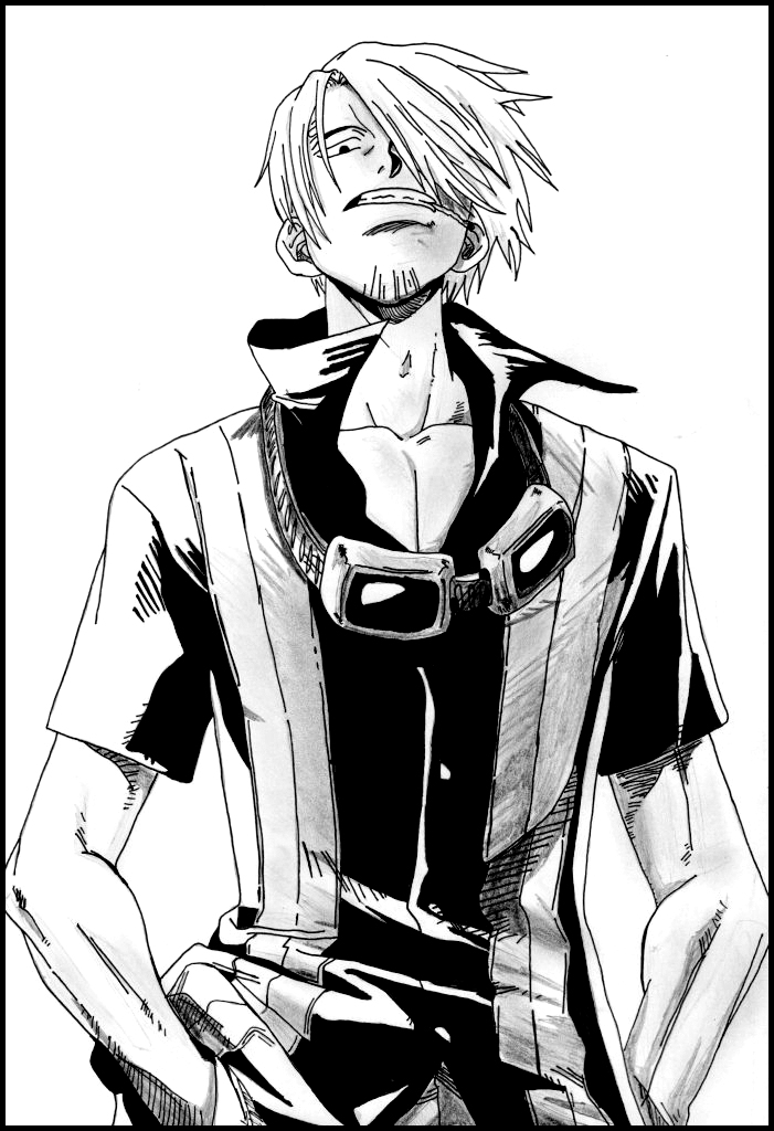 Sanji From One Piece By Mazaiko On Deviantart