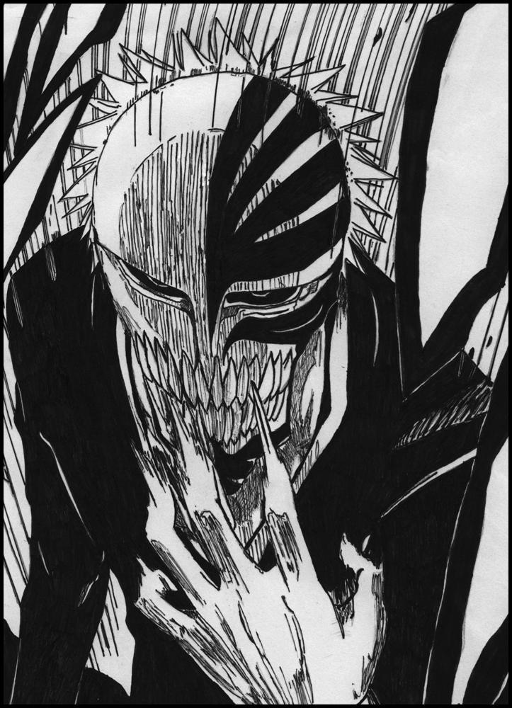 Kurosaki ichigo vizard by mazaiko on deviantart - Ichigo vizard mask ...