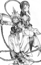 BlackStar X Tsubaki Soul Eater by Mazaiko