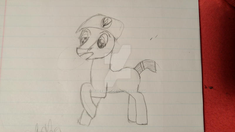 Pony drawing, first time by theFan11