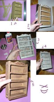 Miniature Shelf Tutorial