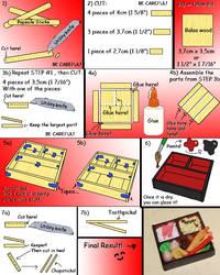 How to make a Mini Bento Box by kayanah