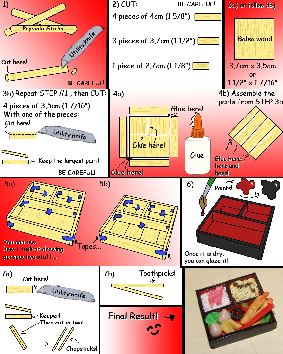 how to make a mini bento box by kayanah on deviantart. Black Bedroom Furniture Sets. Home Design Ideas
