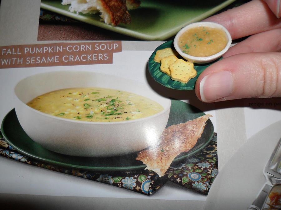 Pumpkin-Corn Soup by kayanah