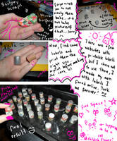 Mini cans tutorial by kayanah