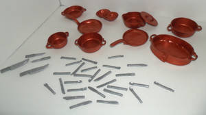 Mini Cooking Pots and Utensils