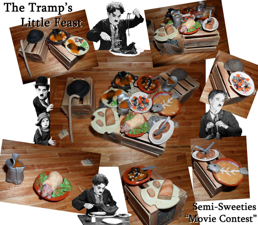 A Little Feast for the Tramp by kayanah