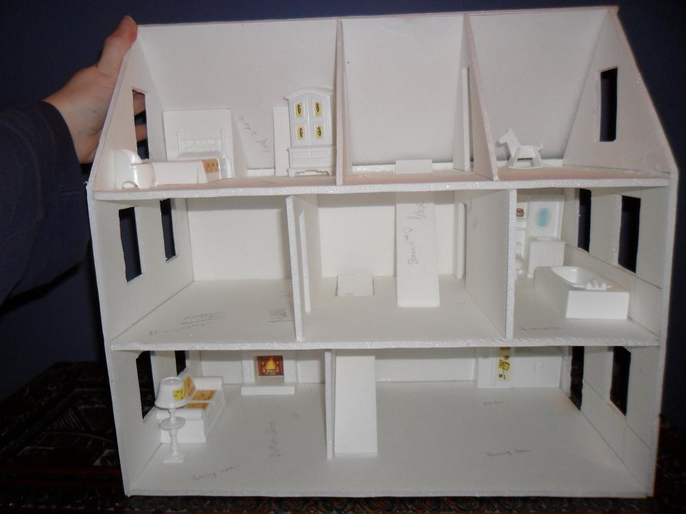 Second foam core dollhouse wip 3 configuration by kayanah for Foam panel house
