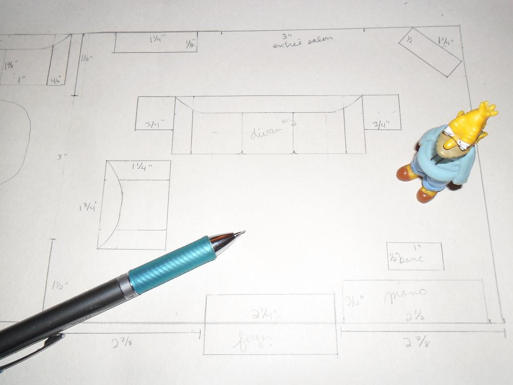 Plans For The Simpsons Project WIP 2: Living Room By Kayanah ...