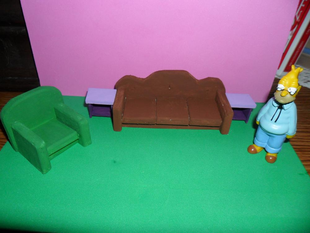 The simpsons furniture living room wip 1 by kayanah on deviantart for Simpsons living room picture