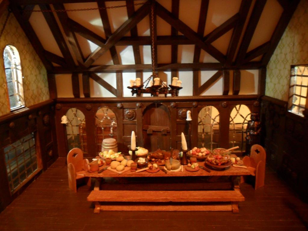 Medieval Banquet Hall by kayanah on DeviantArt : medievalbanquethallbykayanah d6nb3hr from kayanah.deviantart.com size 1024 x 768 jpeg 135kB