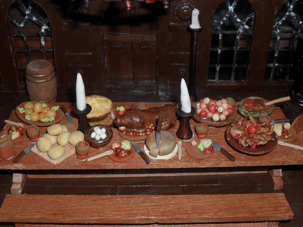 Medieval food and drink the image kid for Art culture and cuisine ancient and medieval gastronomy