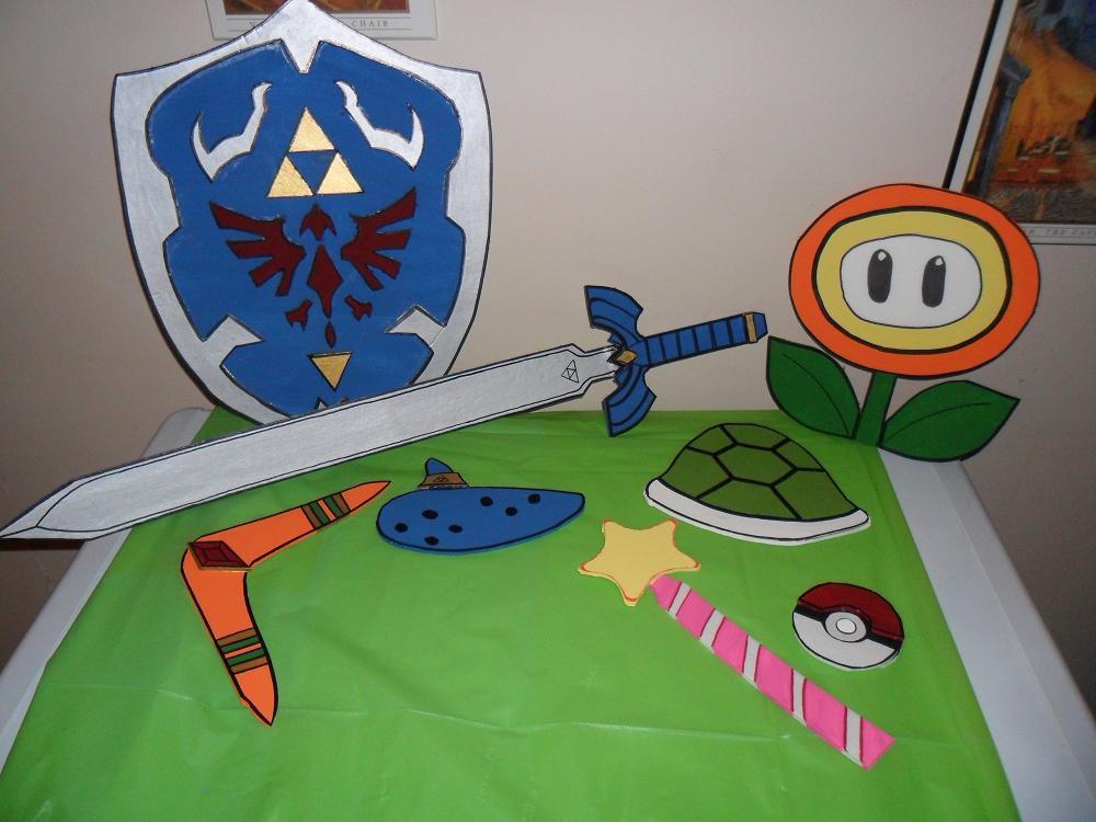 Nintendo Games Props by kayanah