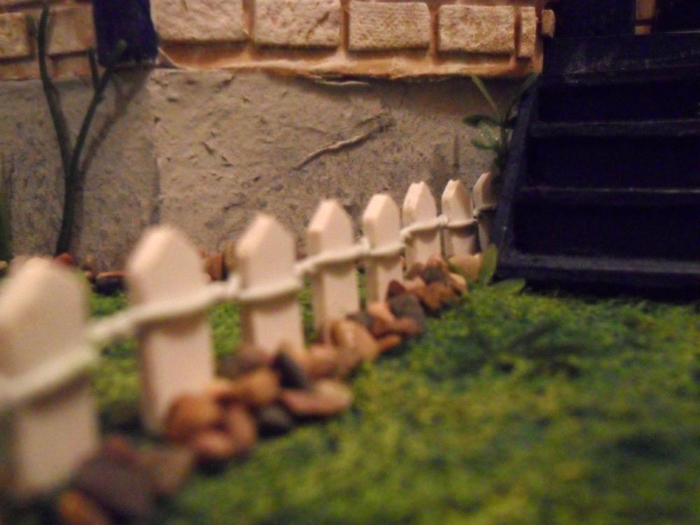 Mini grass and rocks closeup by kayanah