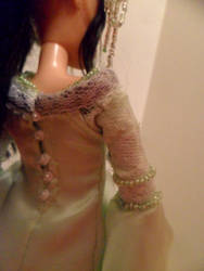 Arwen Coronation Gown Back by kayanah