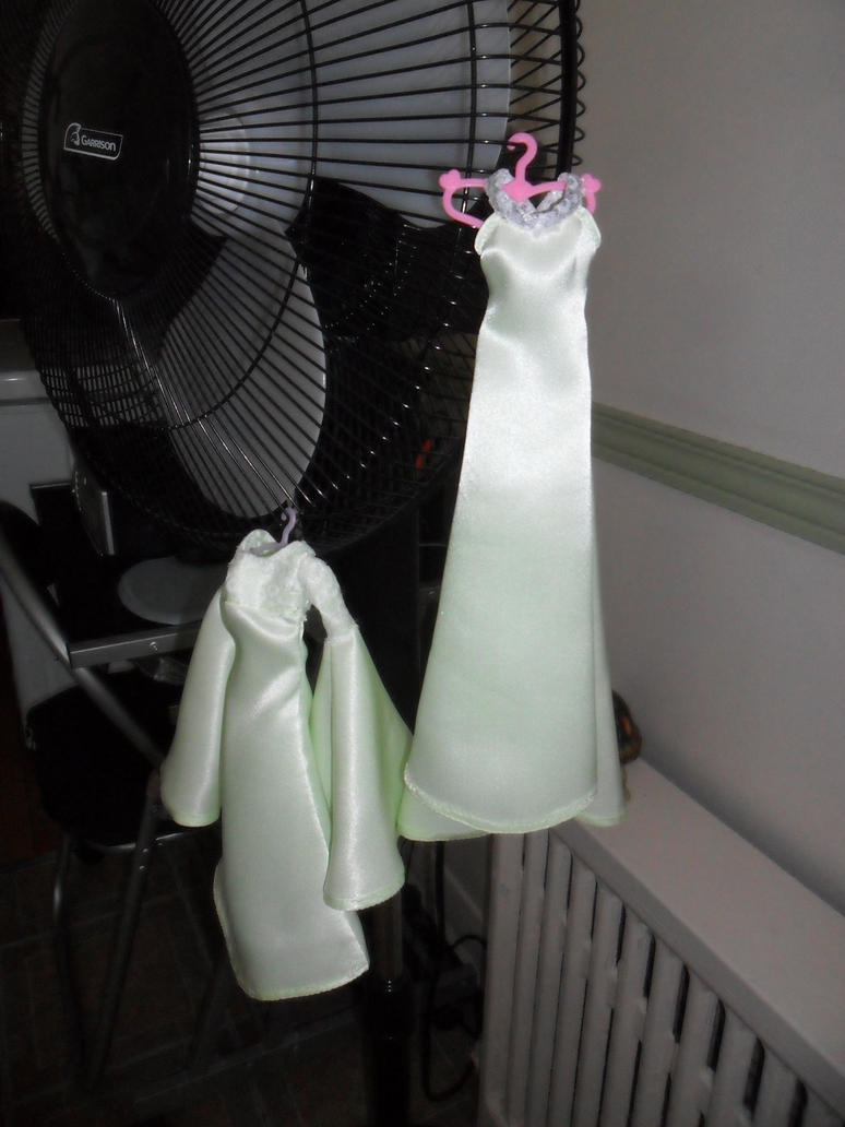 Mini Dresses on mini Hangers by kayanah