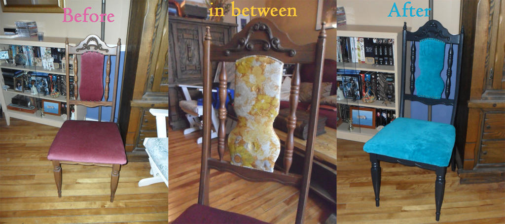 Chair Makeover by kayanah