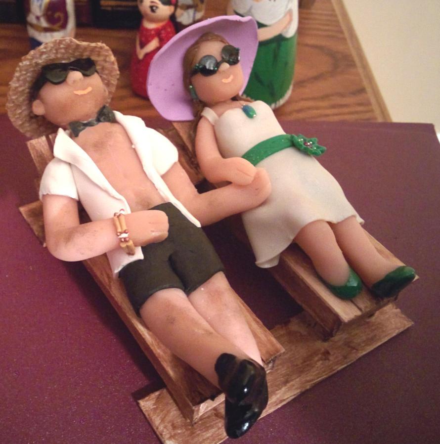 Wedding Cake Topper by kayanah