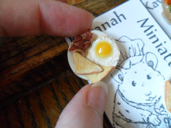 Breakfast Earrings by kayanah