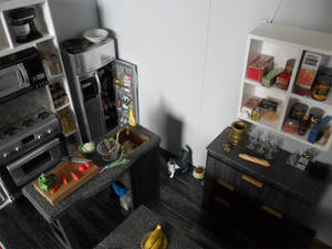 Barbie Up to Date Kitchen 1
