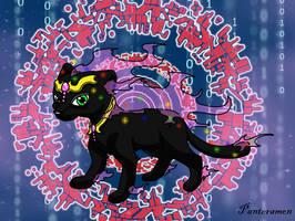 Digimon Advent - Panteramon the panther digimon by Inakamon