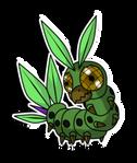 Mushimon the caterpillar digimon