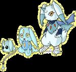 Digimon Advent - Manimon Revised by Inakamon