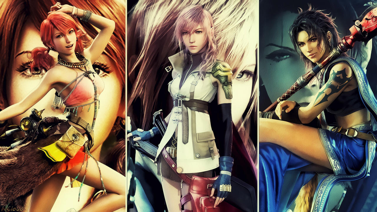 XIII Ladies - Final Version by NaughtyBoy83